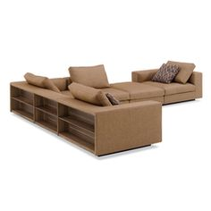 Sofas-Modular sofa systems-Seating-Living Landscape 750 corner sofa-Walter Knoll