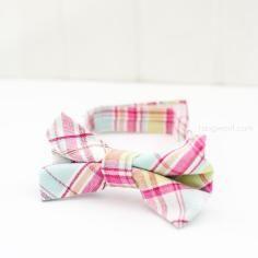 DIY Tutorial Bows and Ties / DIY Little Boy Bow Tie - Bead&Cord