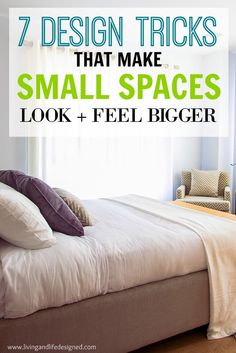 How to Make Small Spaces Instantly Feel Larger