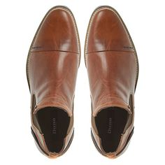Buy Dune Chili Toecap Chelsea Boot, Tan from our Men's Shoes, Boots & Trainers range at John Lewis & Partners. New Shoes, Men's Shoes, Boot Brands, Leather Material, Types Of Shoes, Dune, Chelsea Boots, Oxford Shoes, Loafers