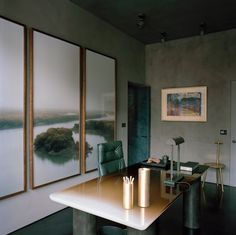 Faye Toogood's Moody Blues - For the British designer, a private home in London's Mayfair became a - The New York Times