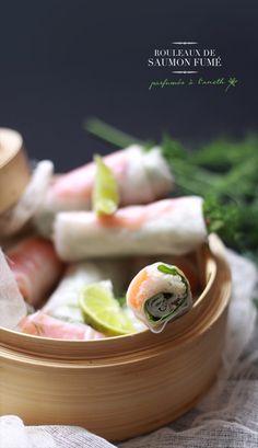 Smoked Salmon Roll via Fraise Basilic