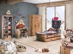 decopeques cliek habitaciones tematicas piratas1 Cilek, dormitorios infantiles temáticos   Habitación pirata.