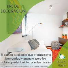 Si pintas tu #apartamentonuevo con colores oscuros, los espacios se verán más pequeños. #estrenarapartamento #borealtukana
