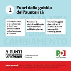 8 punti per un governo di cambiamento - Fuori dalla gabbia dell'austerità