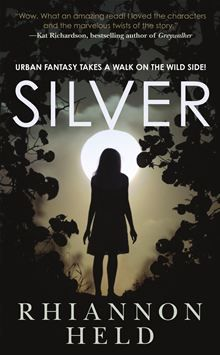 Urban fantasy takes a walk on the wild sidein Silver, theremarkable debut novel from Rhiannon Held. Andrew Dare is a werewolf.He's the enforcer for the Roanoke pack, and…  read more at Kobo.