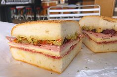 New Orleans: What and Where to Eat – Muffuletta at Central Grocery