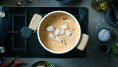 Hot cod soup   3iuka Cod, Meal Planning, Spicy, Meals, Breakfast, Tableware, Morning Coffee, Dinnerware, Meal