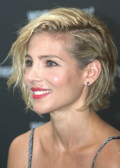 Short hairstyle idea - These are really great things to think about if you're wanting to get your hair cut short! Hair does grow back, but going from long to short hair is a commitment.