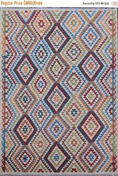35% OFF Final sale 202 x 303 cm Stunning Handwoven Afghan