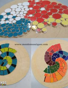 Security Check Required - Her Crochet Sea Glass Mosaic, Mirror Mosaic, Mosaic Diy, Mosaic Planters, Mosaic Garden, Handicraft, Flower Designs, Glass Art, Mandala