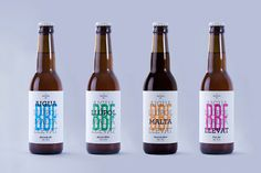 Barcelona Beer Festival has assembled, with the collaboration of 4 national breweries, 1000 specialedition packs containing 4 different bottled beers.