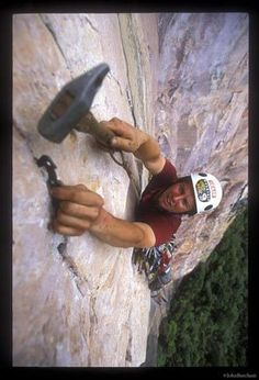 Mike Libecki climbing a first ascent on the Acopan Tepui in Venezuela