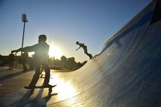 Kumba Skate Park, Kimberley, Northern Cape, South Africa | by South African Tourism