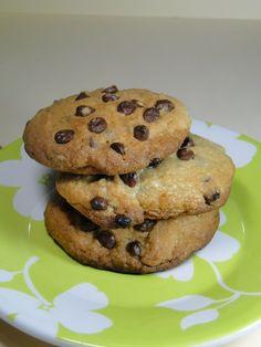 Aprenda a preparar a receita de Cookies com gotas de chocolate