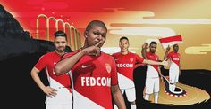 Camisas do AS Monaco 2017-2018 Nike
