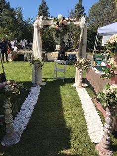 Arch Flowers, Dolores Park, Sidewalk, Travel, Viajes, Side Walkway, Walkway, Destinations, Traveling