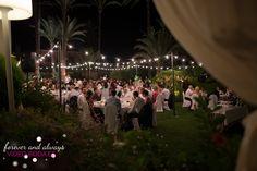 Iluminación boda Parador de jávea
