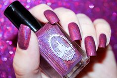 Swatch of February 2014 by Enchanted Polish by diamant sur l'ongle