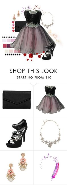 """I'm Addicted To You ♥"" by shyanimallover5 ❤ liked on Polyvore featuring LULUS and Oscar de la Renta"