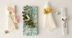 Bringing a hint of spring to the table as we await its arrival outdoors, our botanical napkin rings are a simple and impactful accent for seasonal gatherings.