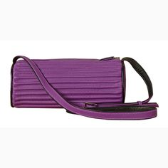 Cygni - violet leather - Biskup Handbags