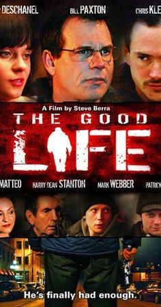 Directed by Stephen Berra.  With Mark Webber, Zooey Deschanel, Harry Dean Stanton, Bill Paxton. A young man (Webber) is encouraged by a new friend (Deschanel) to cope with living in a town where he doesn't necessarily fit in.