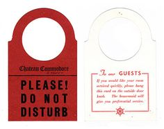 Hang Out With Us Retro Hotel Do Not Disturb Signs Are Things Of