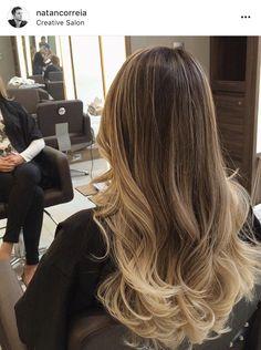 Hair extensions styles mom New Ideas Brown Hair Balayage, Brown Blonde Hair, Hair Color Balayage, Brunette Hair, Hair Highlights, Hair Styler, Hair Affair, Aesthetic Hair, Light Hair