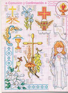 Catholic cross.stitch confirmation holy communion Gallery.ru / Фото #133 - ENCICLOPEDIA ITALIANA - KIM-2