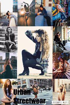 Urban street wear photoshoot