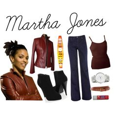"""Martha Jones Outfit"" by insertsomethingwittyhere on Polyvore"