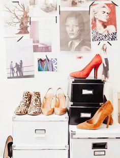 close up shoes