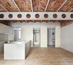 House Tomás / LAB - That ceiling! #brick