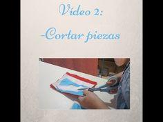 Cómo cortar el cuerpo de flamenca. Vídeo 2; cortar. - YouTube