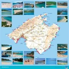 Mallorca Beaches Map