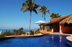 Casa Vista Del Mar - San Pancho, Mexico -Secluded Ocean View 2 bedroom home http://www.sanpanchorentals.com/2bedroom/casa_vista_del_mar.html $250 USD per night