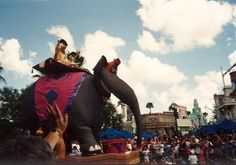 An entire parade for mulan, over at Disneyland AND hollywood studios (then mgm). Description from vintagedisneyparks.tumblr.com. I searched for this on bing.com/images
