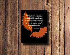 Game of thrones quote by Tyrion Lannister wall art in by PrintsLM