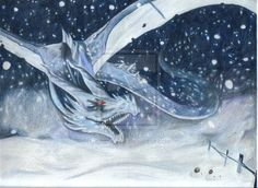 Ice Dragon By Cup A Joedeviantart On DeviantART