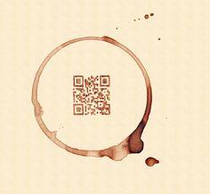 coffee QR code