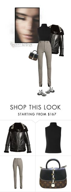 """""""Futuristic Sneakers!!!"""" by mariots22 ❤ liked on Polyvore featuring Balenciaga, Theory and Louis Vuitton"""