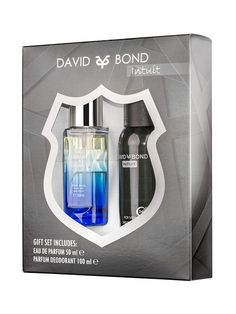 Set cadou barbati David & Bond - Apa de parfum + Deodorant spray