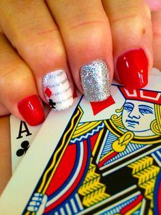 Vegas nails by Nikki Eilts of Tiptoe Nail Salon!