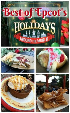 Check Out The Best of Epcot's Holidays Around the World Food Booths!