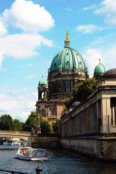 Berlin Cathedral. Make a day at Museum Island and view the different histories on display.