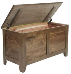 Cedar Chest for Kellan's keepsakes