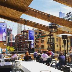 Photo of Bernie's Lunch & Supper - Chicago, IL, United States. Rooftop Life