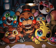 I prefer the animatronics like this cute and kawaii. Not deadly and insane (I love both, death from cutes <3)