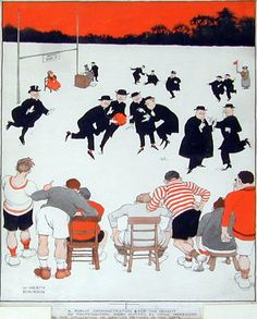 Heath Robinson -Demo for gentle rugby *vintage